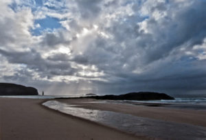2nd= Dusk Falls on Sandwood Bay  by     Ricky Fraser