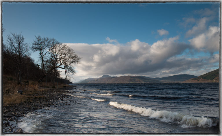 3rd  'Loch Ness, South Side' by Dave Bird