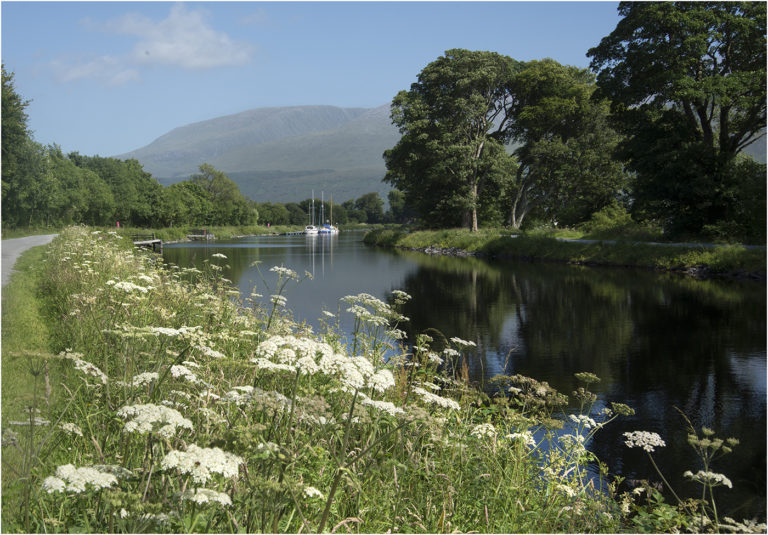 2nd  'Caledonian Canal, Corpach' by  Ross Graham